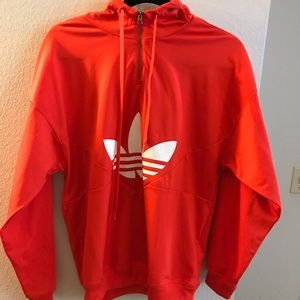 Red Adidas Hoodie ❤️